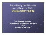 Energía Solar y Eólica - Sernageomin