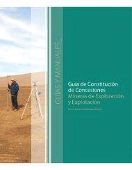 La Guía de Constitución de Concesiones Mineras - Sernageomin