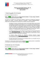 Reporte de Actividad Volcánica No. 10 REGIÓN ... - Sernageomin