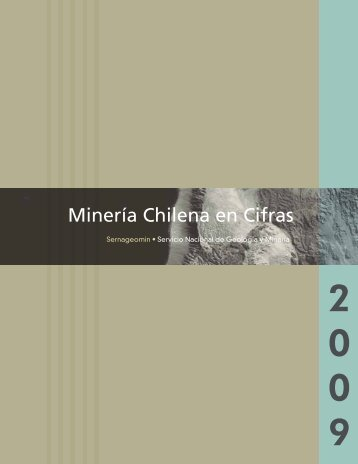 Minería Chilena en Cifras - Sernageomin