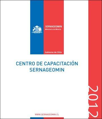 Reglamento del alumno Centro de Capacitación Sernageomin