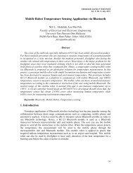 Mobile Robot Temperature Sensing Application via ... - SERSC