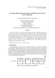 An Adaptive Blind Channel Estimation of OFDM System by ... - SERSC