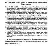 A. - Das züroherisohe Gesetz über die ... - servat.unibe.ch