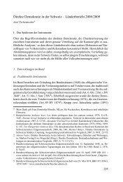 Direkte Demokratie in der Schweiz – Länderbericht ... - servat.unibe.ch