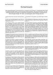 Rousseau, Contrat - servat.unibe.ch - Universität Bern