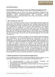 Web 2.0-Werkzeugen - Prof. Dr. Hans-Gerd Servatius