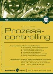 Prozess Controlling - Prof. Dr. Hans-Gerd Servatius