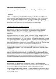 Gewinnspiel Teilnahmebedingungen - Server-husumwind.de
