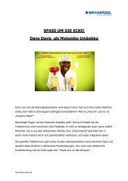 Presseinfo Dave Davis - Server-husumwind.de