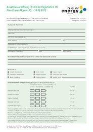Ausstelleranmeldung / Exhibitor Registration - Server-husumwind.de