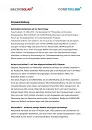 Pressemitteilung - Server-husumwind.de
