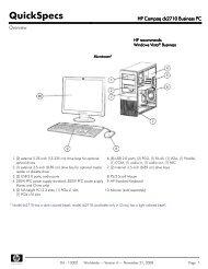 HP COMPAQ DX2100 MICROTOWER USB WINDOWS 7 X64 TREIBER