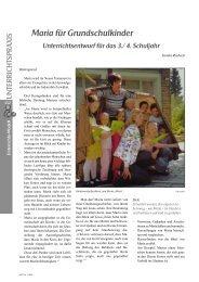 Maria für Grundschulkinder - Service.bistumlimburg.de