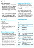 professional caretm - Braun Consumer Service spare parts use ... - Page 6