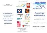 Wesselinger Katholikentag 30. September 2012