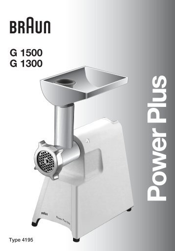 Power Plus - Braun Household