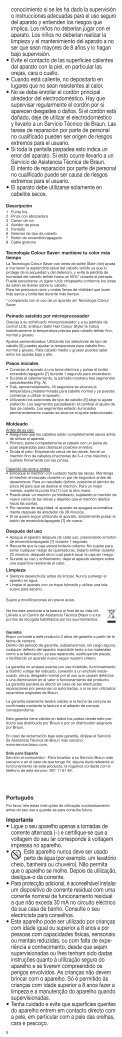 Satin·Hair 7 - Braun Consumer Service spare parts use instructions ... - Page 5