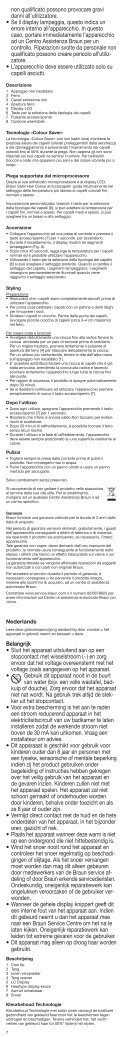Satin·Hair 7 - Braun Consumer Service spare parts use instructions ... - Page 7