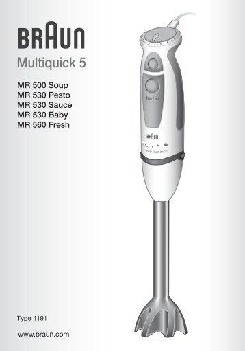 Multiquick 5 - Braun Household