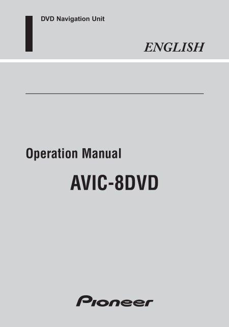 avic8dvd  servicepioneereur  pioneer