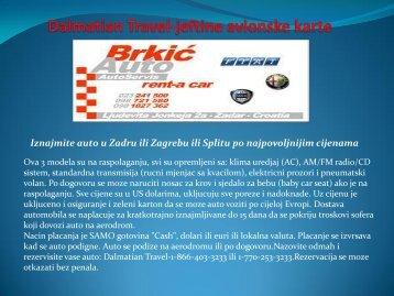 Dalmatian Travel-jeftine avionske karte