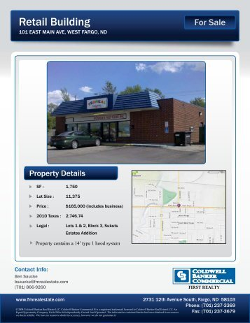Document: Flyer - Coldwell Banker Commercial