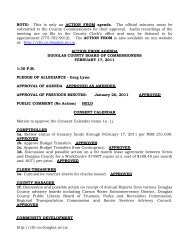 Action from BOCC Meeting of 2/17/11 - Clerk-Treasurer Home Page