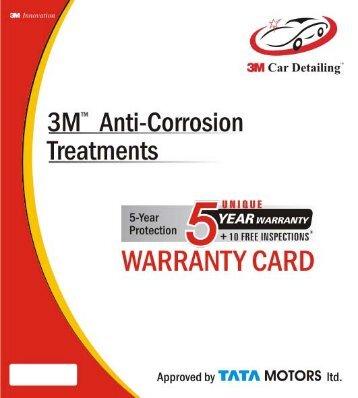 "3M"" Anti-Corrosion - Tata Motors Customer Care"