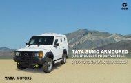 Sumo Armoured LBPV - Tata Motors Customer Care