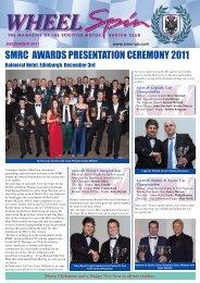 WheelSpin December 2011 - Scottish Motor Racing Club