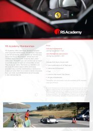 Download Membership Form - RS Academy