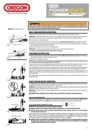 Powersharp Chain Sharpener - Service Link