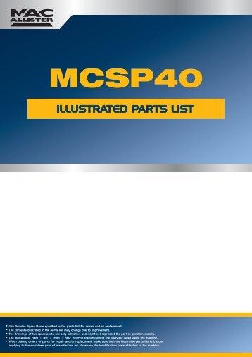 MCSP40 2012populaire