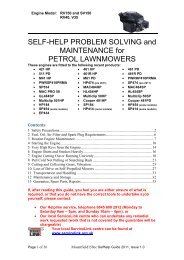 SELF-HELP PROBLEM SOLVING and ... - Service Link
