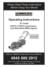 Operating Instructions - Service Link