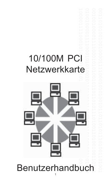 10/100M PCI Netzwerkkarte Benutzerhandbuch - Digitus