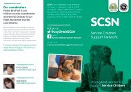SCSN- Flyer-project - Service Schools Mobility Toolkit