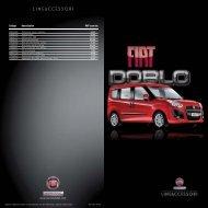 AF Diptico accesorios DOBLO - Servicios Fiat