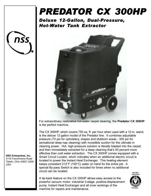 Predator Cx 300hp Nss Enterprises Inc