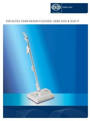 SEBO DUO - servomatic GmbH