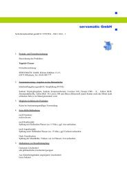 Sicherheitsdatenblatt Teppich-Cleaner - servomatic GmbH