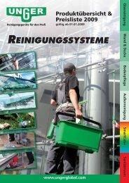 Unger Katalog - servomatic GmbH