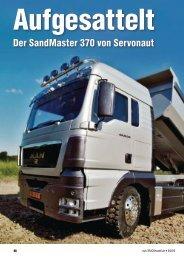 Ausführlicher Testbericht zum Sandmaster 370 aus der ... - Servonaut