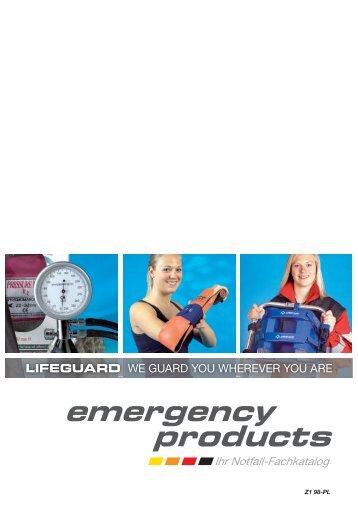 emergency products - Servoprax GmbH