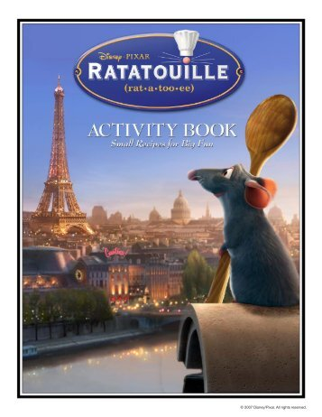 Ratatouille's Activity Book - Disney