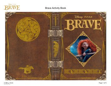 Brave Activity Book - Family.com