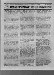 Impressions - Washtenaw County Historical Society