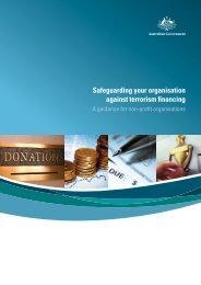 Safeguarding your organisation against terrorism financing - booklet