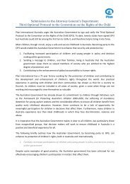 Plan Australia Submission [PDF 396KB] - Attorney-General's ...